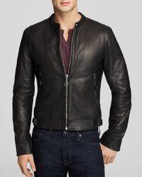 BLK DNM Black 85 Leather Jacket for men
