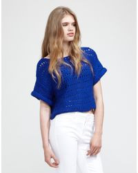 Wool And The Gang | Blue Diana Sweater | Lyst