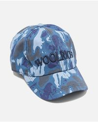 Cappello Baseball di Woolrich in Blue da Uomo