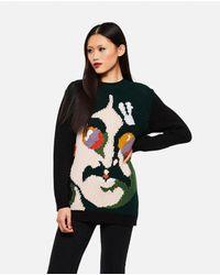 Maglione All Together Now John Lennon di Stella McCartney in Green