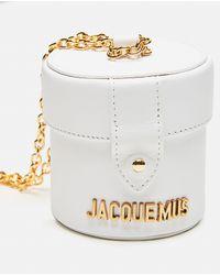Jacquemus White Le Petit Vanity Bag