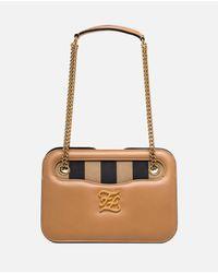 Fendi Natural Karligraphy Pocket Shoulder Bag