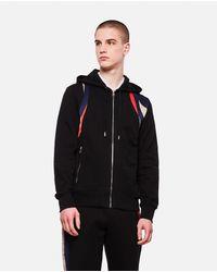Alexander McQueen Black Sweatshirt With Zip for men