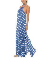 Acacia Swimwear Blue Moscow Jersey Dress