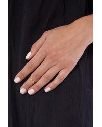 JEWEL CULT - Metallic Tiny Crystal Marquis Ring - Lyst