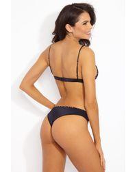 Indah Black Mandy Studded Bottom