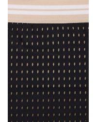 Acacia Swimwear Black G-land Mid Rise Bikini Bottom