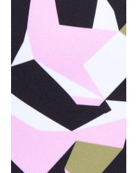 Prism - Black Bathsheba Underwire One Piece Swimsuit - Geometric Camo Print - Lyst