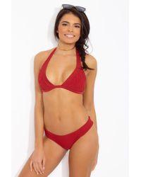 Tori Praver Swimwear Multicolor Olivia Top