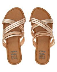 Billabong - Multicolor Sandy Toes Slide Sandal - Lyst