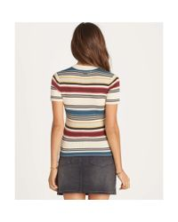 Billabong - Multicolor Time After Time Top - Lyst