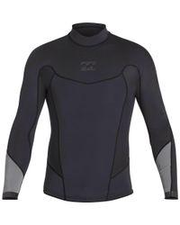 Billabong - Black 2/2 Absolute Comp Long Sleeve Jacket for Men - Lyst