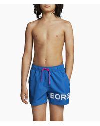 Björn Borg Karim Swim Shorts Skydiver in het Blue voor heren