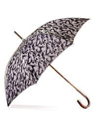 Black.co.uk - Gray Grey Camouflage Luxury Umbrella - Lyst