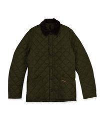 Barbour Green M_heritage Liddesdale Quilt for men