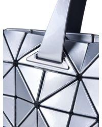 Bao Bao Issey Miyake Blue Carton T In Silver