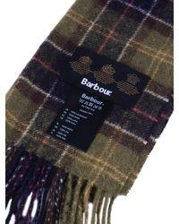 Barbour - Multicolor M_tartan Lambswool Scarf - Lyst