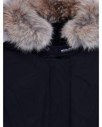 Woolrich Blue Womens Arctic Parka