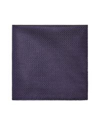 Armani | Blue Zigzag Pocket Square for Men | Lyst