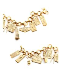Jet Set Candy - Metallic Syd Sydney Luggage Tag Charm - Lyst