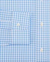 Brooks Brothers - Blue Gingham Check Regular Fit Dress Shirt for Men - Lyst