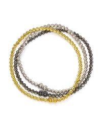 Officina Bernardi - Metallic Set Of 3 - Lyst