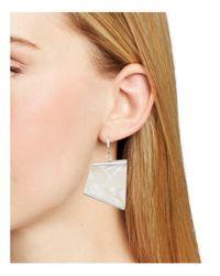 Robert Lee Morris - Multicolor Geometric Drop Earrings - Lyst