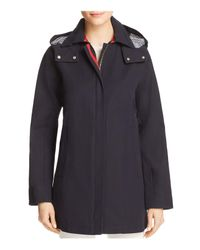 Vince Camuto - Blue Trench Coat - Lyst