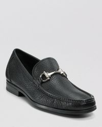 Ferragamo Black Magnifico Bit Loafer for men