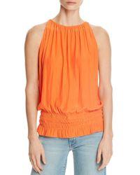 Ramy Brook Orange Sleeveless Lauren