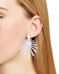Kendra Scott - Metallic Cambria Sunburst Drop Earrings - Lyst