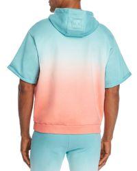 Tommy Hilfiger Green X Lewis Hamilton Ombré Short - Sleeve Hooded Sweatshirt for men