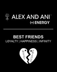 ALEX AND ANI Metallic Best Friends Forever Set Of Two Bangles