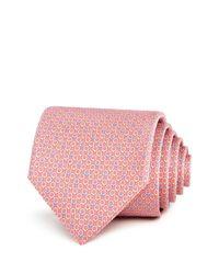 Ferragamo - Pink Multi Gancini Classic Tie for Men - Lyst