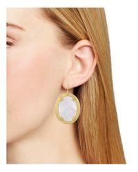 Stephanie Kantis - Multicolor Life Oval Earrings - Lyst