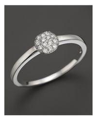 Dana Rebecca | Metallic 14k White Gold And Diamond Lauren Joy Mini Ring | Lyst