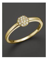 Dana Rebecca 14k Yellow Gold And Diamond Lauren Joy Mini Ring