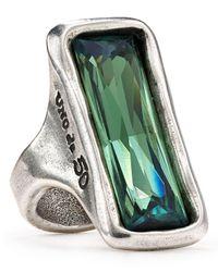 Uno De 50 - Metallic Aurora Borealis Ring - Lyst