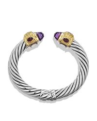 David Yurman - Purple Iolite & Gold - Lyst