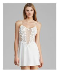 Flora Nikrooz | White Showstopper Charmeuse Chemise | Lyst