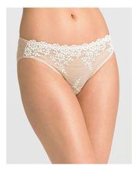 Wacoal | Natural Embrace Lace Bikini #64391 | Lyst