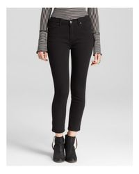 Free People Jeans - High Rise Roller Crop In Black