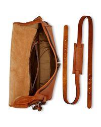 Ralph Lauren - Brown Polo Core Leather Messenger Bag for Men - Lyst