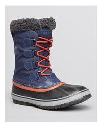 Sorel Blue 1964 Pac Nylon Waterproof Boots for men