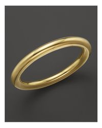 Ippolita | Metallic 18k Gold Glamazon Large Tube Bangle | Lyst