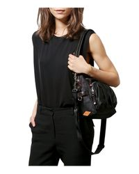 MZ Wallace | Black Lizzy Shoulder Bag | Lyst