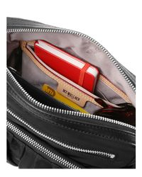 MZ Wallace Black Lizzy Shoulder Bag