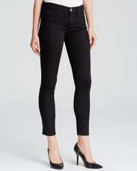 Current/Elliott | Jeans - The Stiletto In Jet Black | Lyst