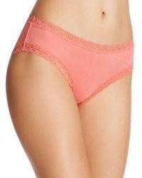Natori | Pink Bliss Girl Brief #156058 | Lyst