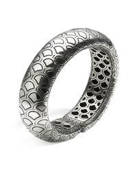 John Hardy - Metallic Women's Sterling Silver Naga Bold Flex Cuff - Lyst
